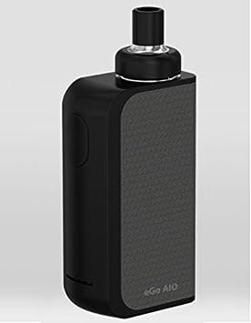 Joyetech - eGo AIO Box - Mientras que Una - Sin Tabaco - Sin Nicotina - Color: Negro y Gris