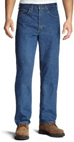 Carhartt Men's Relaxed Fit Straight Leg Jean B160