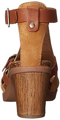 Dansko Womens Dominique Dress Sandalo In Pelle Di Cammello