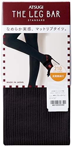 [아츠기(Atsugi)] 타이츠 【일본제(MADE IN JAPAN)】 210데니아 매트 리브 체격 타이츠 아츠기(Atsugi) 더 레그 바 레이디스