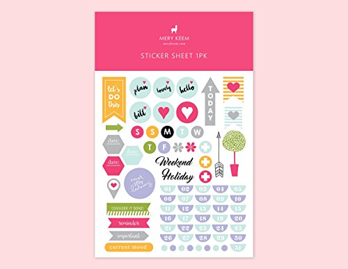 PLANNER STICKERS Back To School • Functional Planner Stickers • Flag Stickers • Planning and Organizer • Schedule • Stationery • Washi Tape