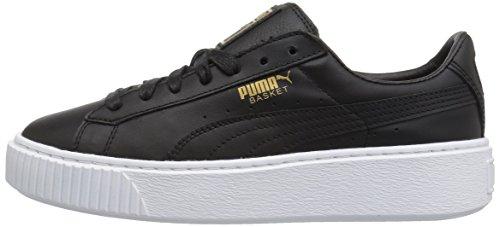 Core Pumabasket Basket Puma Donna Black Platform gold 5aqa78