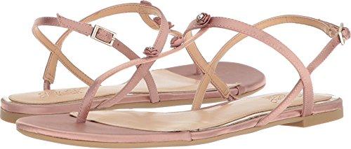Jewel Thong (Badgley Mischka Jewel Women's Thom Flat Sandal, Blush, 7.5 Medium US)