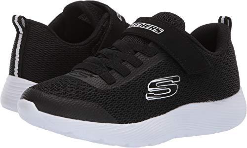 Skechers Boy's Dyna-Lite, Training, Black/White, 1 US M (Shoes Boys Skechers Size 1)