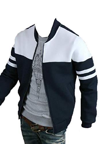Jackets Fashion Premium Varsity Jacket Slim Baseball Gocgt Mens Fit 2 Bomber pZAHqH