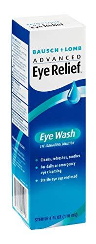 Bausch & Lomb Advanced Eye Relief Eye Wash 4 oz (Pack of 5) Bausch And Lomb Eye Wash