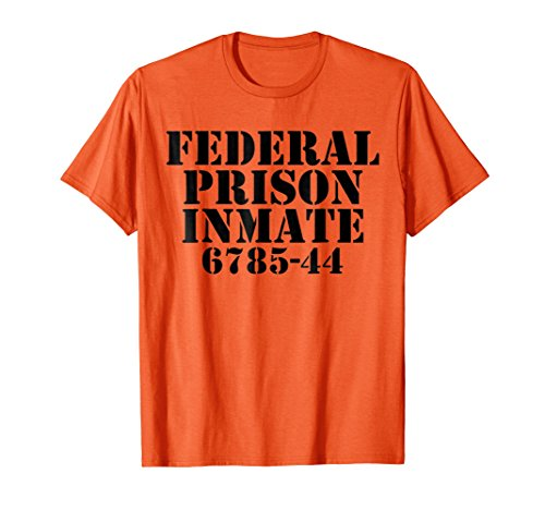 Lazy Funny Halloween Costume T Shirt Prison Inmate