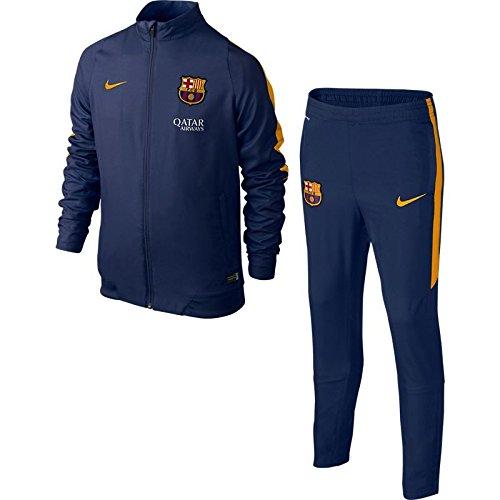 2015-2016 Barcelona Nike Woven Tracksuit (Navy)