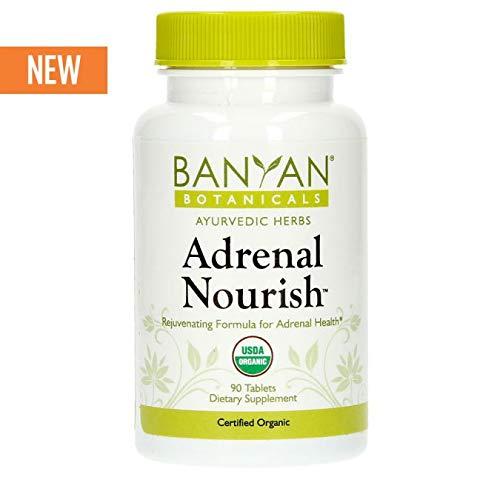 Banyan Botanicals Adrenal Nourish - USDA Certified Organic - 90 Tablets - Balancing Blend for Adrenal Health & Rejuvenation*