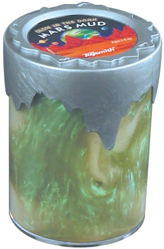 Amazoncom Toysmith Mars Mud Glow In The Dark Mars Mud Colors Vary