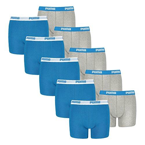 blue 417 Logo Multicolore 58717 Boxer Mehrfarbig À Garçon grey Puma qxvz0x