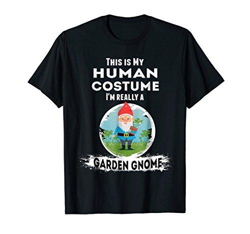 Garden Gnome Halloween Costume T-Shirt Human Costume