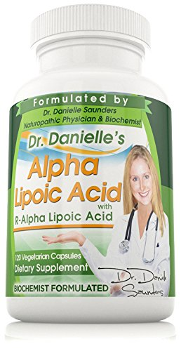Dr. Danielle Alpha Lipoic Acid, RALA, Extremely High Quality Alpha R Lipoic Acid (R-ALA)R- ALA 120 Capsules