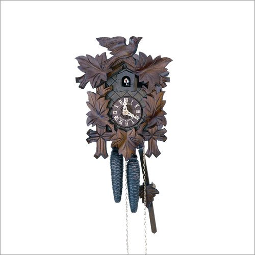 Anton Schneider Cuckoo Clock Five Leaves, Bird SC 90/9 90/9HZ