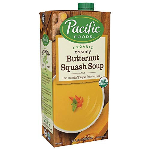 Pacific Foods Organic Creamy Butternut Squash Soup, 32oz ()