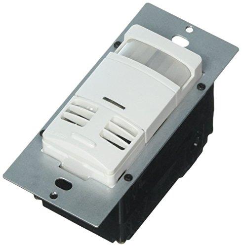 Leviton MSSMT-GDW Lev-Lok Modular Device Multi-Technology Wall Switch Occupancy Sensor - No Neutral, White