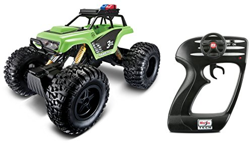 Maisto R/C 2.4 Ghz (8-Player) Rock Crawler 3XL Radio Control Vehicle With 6.4V Lithium-Ion Battery and Charger Included  (Colors May - Radio Chargers Battery Control