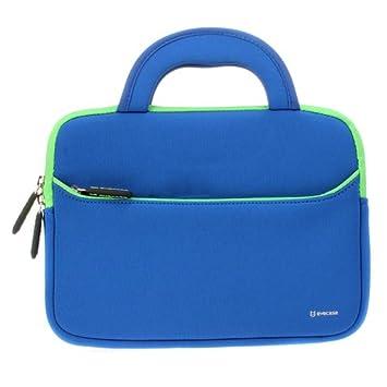 EveCase Estuche para Tablet 10,1 Funda para Tablet 10,1 Pulgadas, Maletín con Manijas para Portátil o Tablet, Color Azul