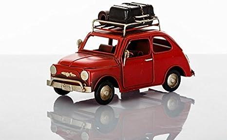 Bomboniere Matrimonio Fiat 500.Cuorematto Modellino Rifinitissimo In Metallo Di Fiat 500 Rossa
