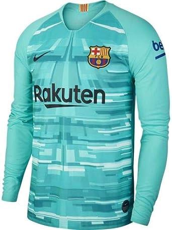 Positivo Favor Claraboya  NIKE FC Barcelona 2019/20 Stadium Goalkeeper Camiseta De Manga Larga FC  Barcelona 19-20 Hombre: Amazon.es: Deportes y aire libre