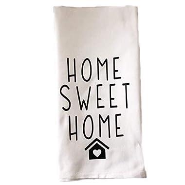 Home Sweet Home kitchen towel Housewarming gift