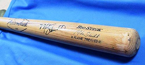 Mike Schmidt Signed Baseball - MIKE SCHMIDT Signed PSA/DNA COA Adirondack Baseball Bat Autograph