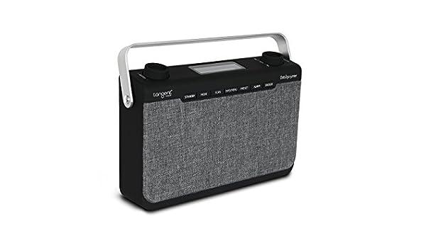Tangent DAB2go Junior Portátil Analógico y Digital Negro, Gris - Radio (Portátil, Analógico y Digital, Dab,Dab+,FM, 7,62 cm (3