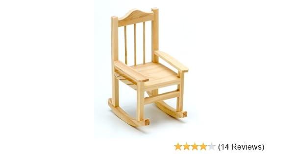 Wood Rocking Chair Darice 9190-562 Timeless Miniatures