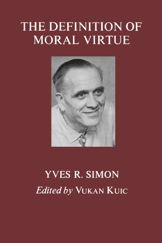 The Definition of Moral Virtue