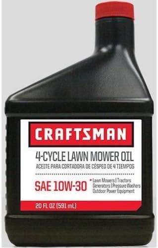 Amazon.com: Craftsman SAE 10 W30 cortadora de césped ...