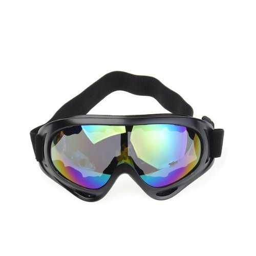 Colorful Winter Cold Sun Snowmobile Motorcycle Off-Road Ski Goggle Glasses Eyewear Lens, Outdoor Stuffs