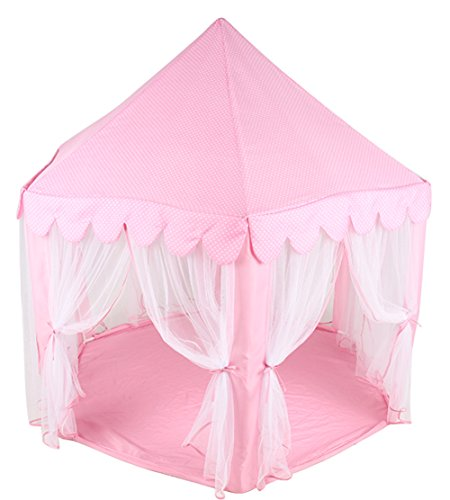 Amazon.com Princess Castle PLay Tent By Sid Trading fairy princess castle (Pink) Toys u0026 Games  sc 1 st  Amazon.com & Amazon.com: Princess Castle PLay Tent By Sid Trading fairy ...