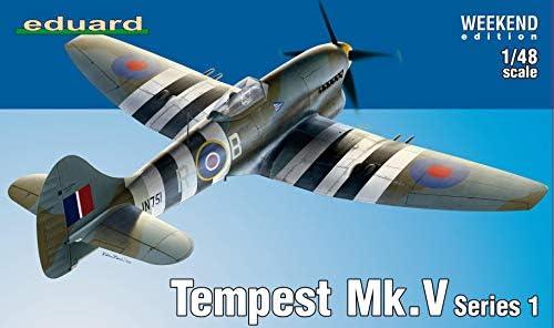 エデュアルド 1/48 ウィークエンドエディション イギリス空軍 ホーカー テンペス トMk.5 シリーズ1 プラモデル EDU