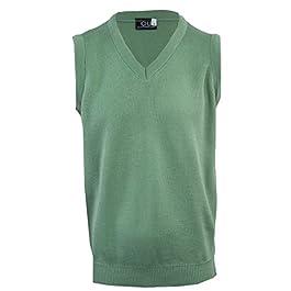 Clothing Unit Mens Plain Sleeveless Sweater
