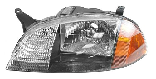 Headlight Headlamp Driver Side Left LH for 98-01 Geo Metro Firefly