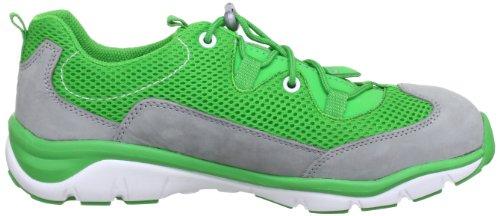 Superfit Sport5 34706 - Zapatillas de fitness de cuero para niños Verde (Grün (Stone Kombi))