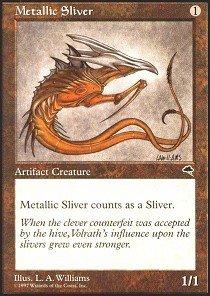Magic: the Gathering - Metallic Sliver - Tempest