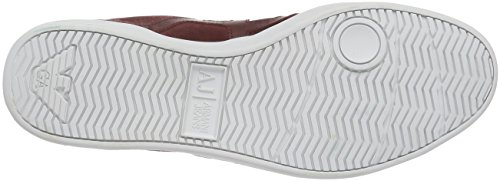 Armani Jeans 935565cc501 Herren Sneaker Rot (BORDEAUX PORT 06476)