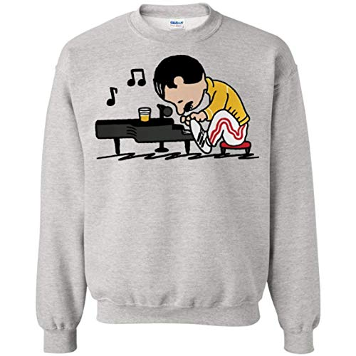 VIRALSHIRT Queenuts Sweatshirts Put My Feet up Piano and Play Piano for Men & Women]()