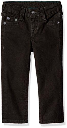 True Religion Boys' Geno Single End Jeans, Charred Black, 18 (Boys True Jeans Religion)