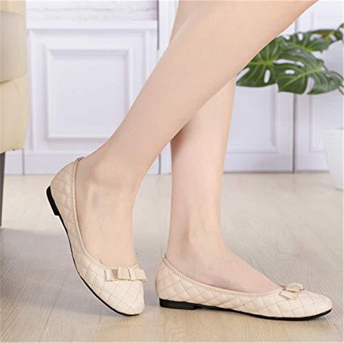 de Suave Suela Trabajo cómodos de FLYRCX Ballet de de Zapatos Moda Zapatos Casual Planos Embarazada Mujer B Zapatos Zapatos wOZIIpX7q