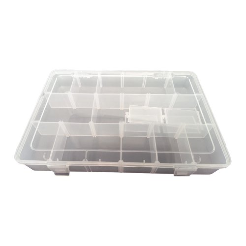 Review Superior Electric PB-40 Plastic 18 Compartments Electronic Components Storage Box By Superior Electric by Superior Electric