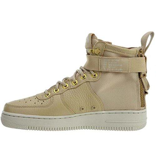 Nike SF Air Force 1 MID Womens Shoes Mushroom/Light Bone Champignon aa3966-200 (9 B(M) US)
