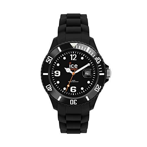 Ice-Watch - ICE forever Black - Reloj nero para Hombre (Unisex) con Correa de silicona - 000133 (Medium)