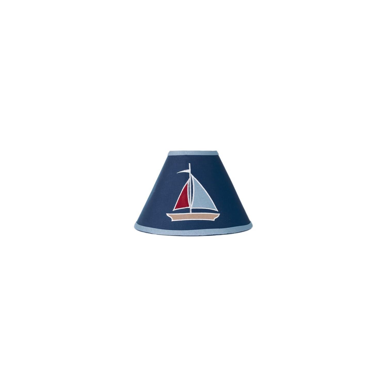 Sweet Jojo Designs Nautical Nights Sailboat Lamp Shade