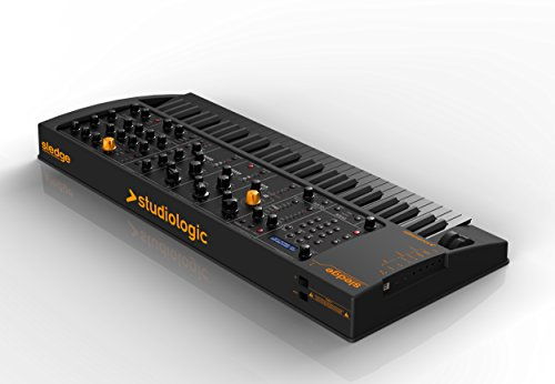 Studiologic Sledge 2 Black Edition Synthesizer with 61-Key Semi-Weighted Keyboard