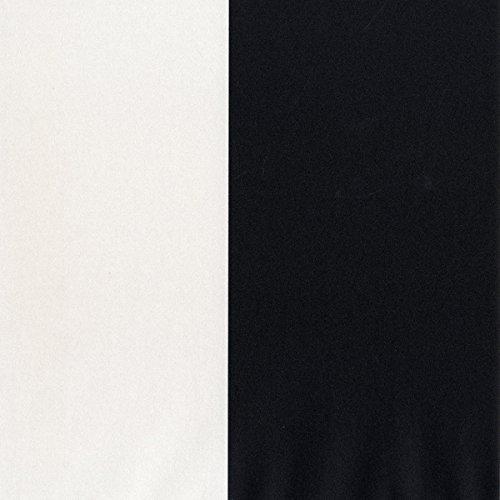 "Norwall SY33937 5.25"" Stripe PrePasted Wallpaper, Pearl, Black, Ebony"