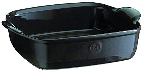 Ovenware Dish - Emile Henry France Ovenware Ultime Square Baking Dish, Charcoal