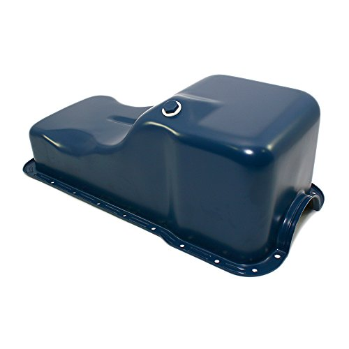 - Assault Racing Products A9078P for Small Block Ford Front Sump Dark Blue Stock Oil Pan SBF 260 289 5.0 Windsor