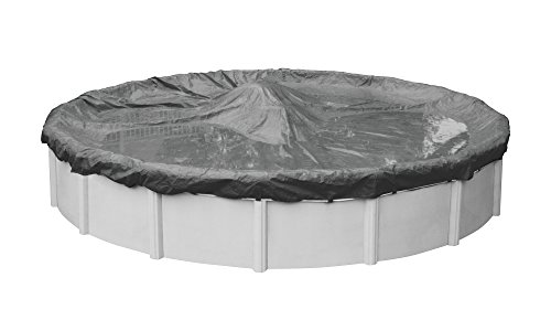 Robelle 5124-4 Ultimate Winter Pool Cover for Round Above Ground Swimming Pools, 24-ft. Round Pool